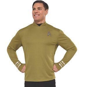NEW  Star Trek Beyond Captain Kirk Costume Shirt